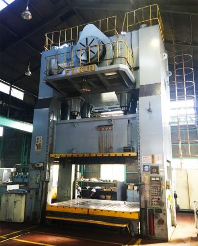 福井機械製MDE800板金プレス