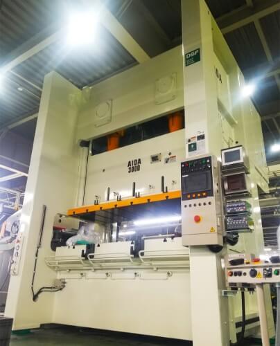 アイダ製DSF-N2-3000サーボプレス